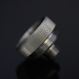 GGTS SS Knurled Connector