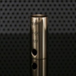 JustGG Engraved Tube (Old) Naval Brass Shined (lasered)