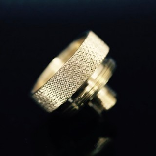 GGTS Brass Knurled Connector