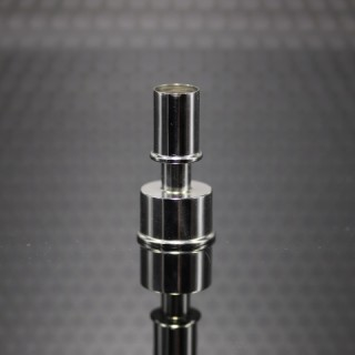 Ithaka Drip Tip Mouthpiece SS Shined (ss shined cap included)