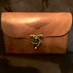 Golden Greek Collective leather case