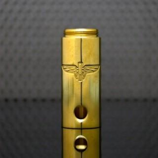 Stealth V3 Engraved Tube Brass Shined