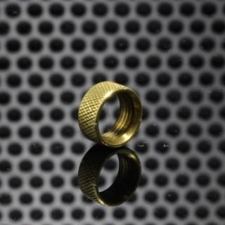 GGTS-JustGG-Stealth-GGTB Button Locking Ring Brass