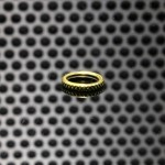 GGTS-JustGG-Stealth Button Adjustable Path Ring Brass