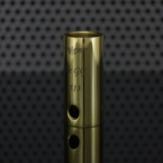 JustGG Engraved Tube (Old) Brass Shined (lasered)